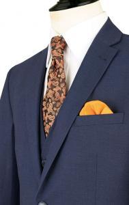 dobell blue tonic suit