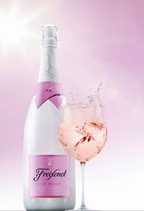 ice rose serve and bottle