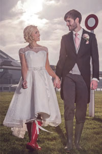 Married couple at Liverpool wedding venue