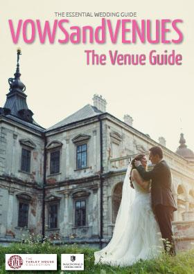 The venue guide front cover