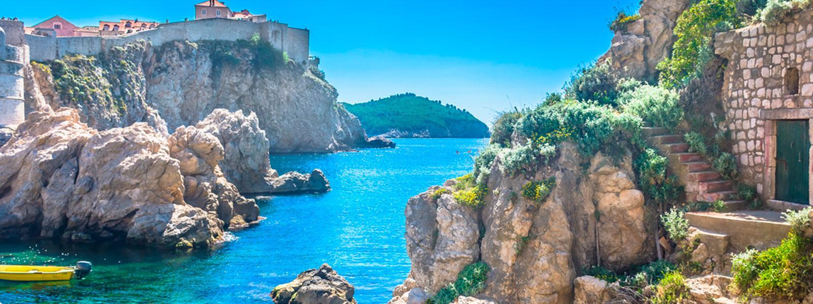 Blue sea - Croatia honeymoon