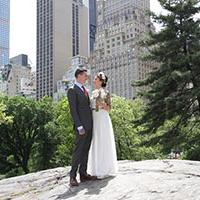Did you know that Brits can have a legally binding wedding outdoors in Central Park, New York?!