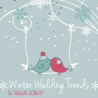 Winter Wedding Trends