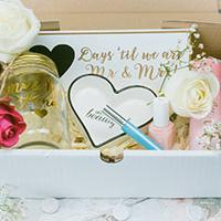 Example of a Bride to Be Box - inside