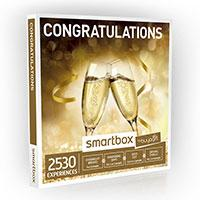 The congratulations Smartbox from Buyagift