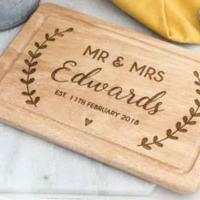 Wedding Gift - bread board