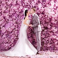 DIY Wedding: create a feature wall for your wedding