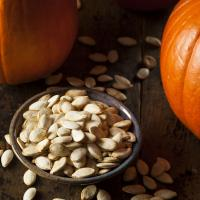 food pumpkin seeds