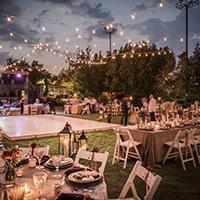 An outdoor wedding - 2019 wedding trends