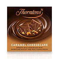 Thorntons caramel cheesecake chocolate blocks