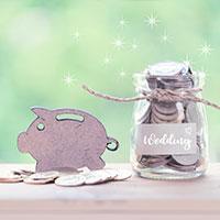 Wedding piggy bank