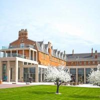 historic Stanbrook Abbey Hotel in Worcestershire grade II listed Pugin Abbey