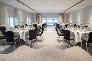 Thorpe Park - wedding venue - reception room