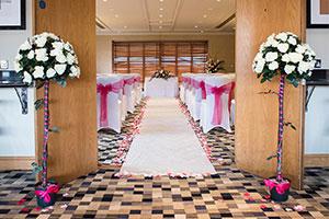 Thorpe Park - wedding venue - ceremony room