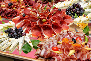 Wedding catering - a food platter