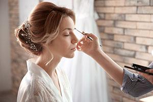 Makeup for a Disney Wedding